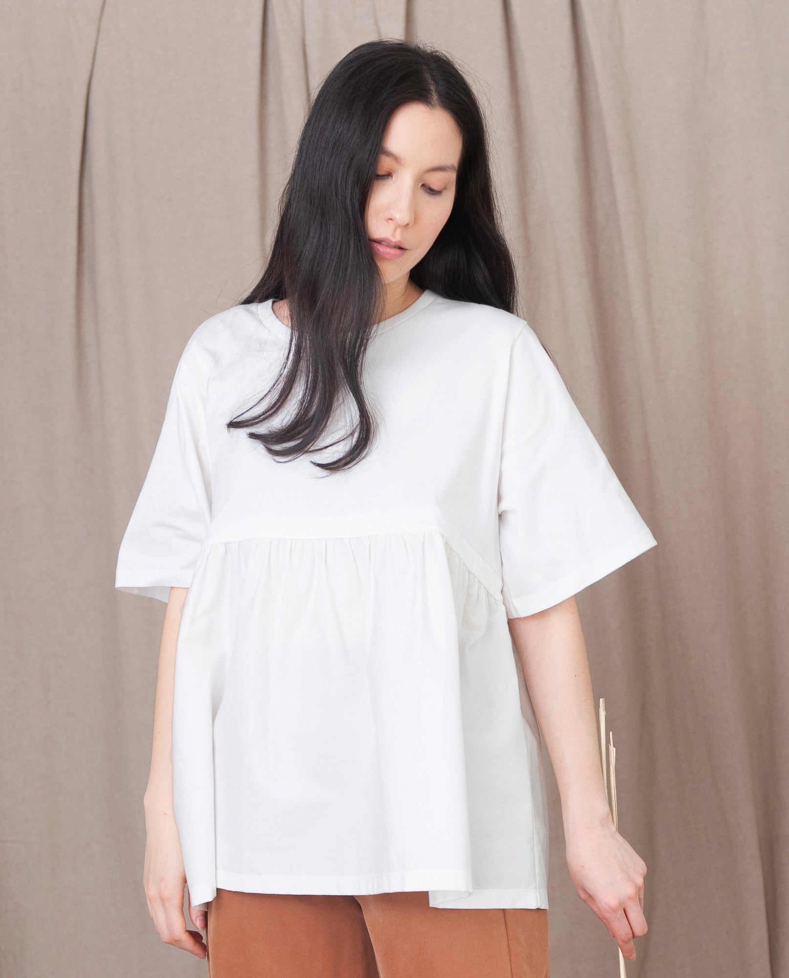 DOROTHY Organic Cotton Top In White