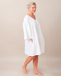 DYLLA Organic Cotton Nightie In Off White