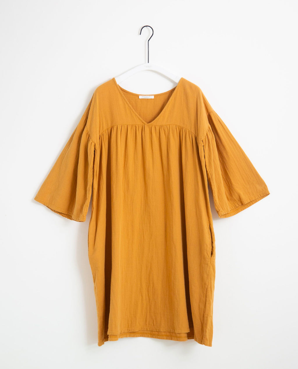 Dylla Organic Cotton Dress In Sun