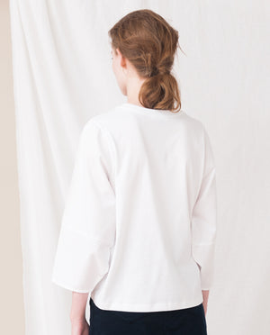 EDITE Organic Cotton Top In White
