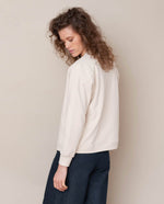 Elena Organic Cotton Jacket In Bone