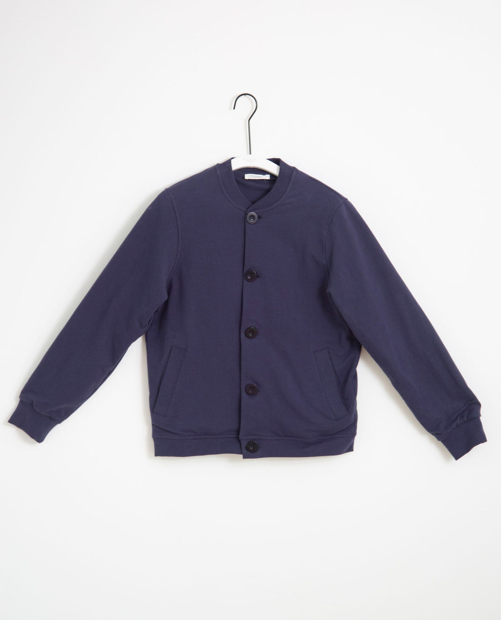 Elena Organic Cotton Jacket In Midnight