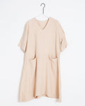 Eliana-May Linen Dress In Bone
