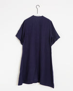 Eliana-May Linen Dress In Midnight