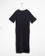 Ellie Organic Cotton Dress In Black