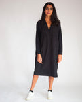 Etta Organic Cotton Dress In Black