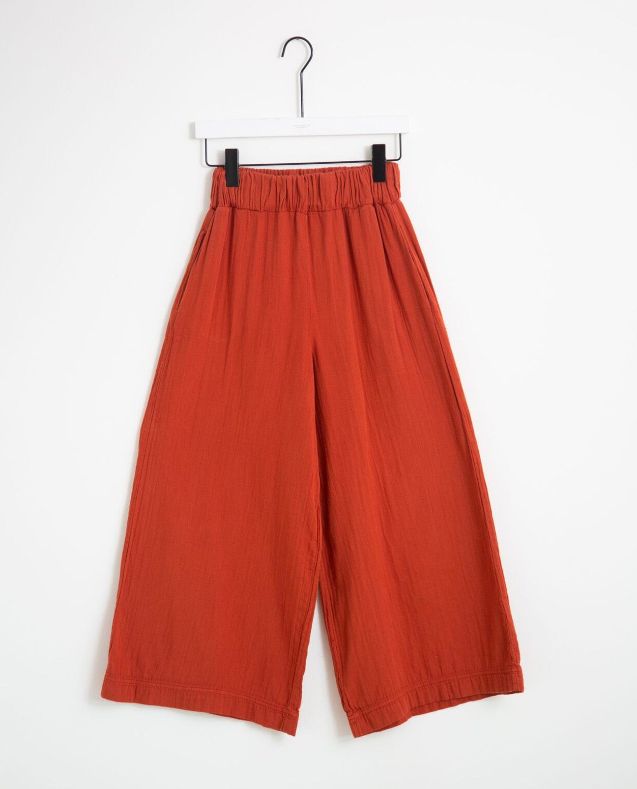 Evora Organic Cotton Trousers In Cinnamon