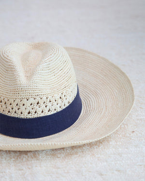 Fedora Hat With Midnight Trim