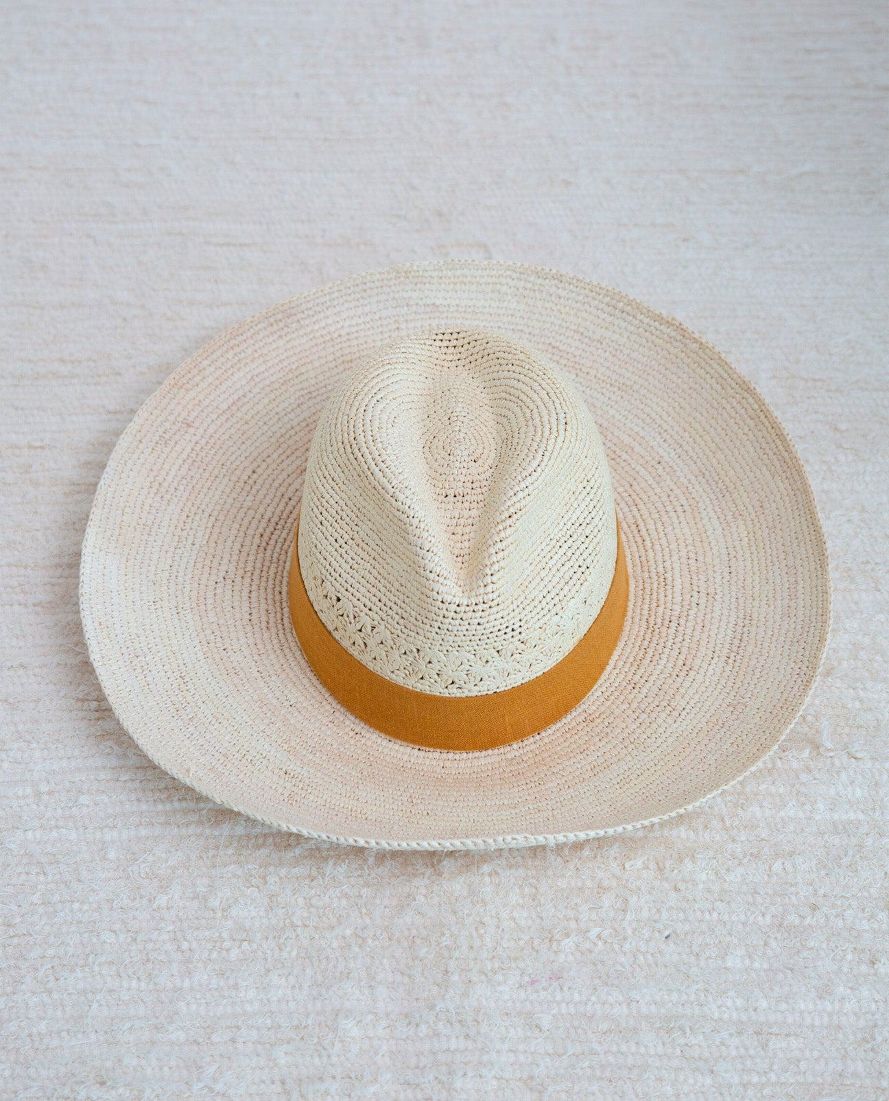 Fedora Hat With Sun Trim