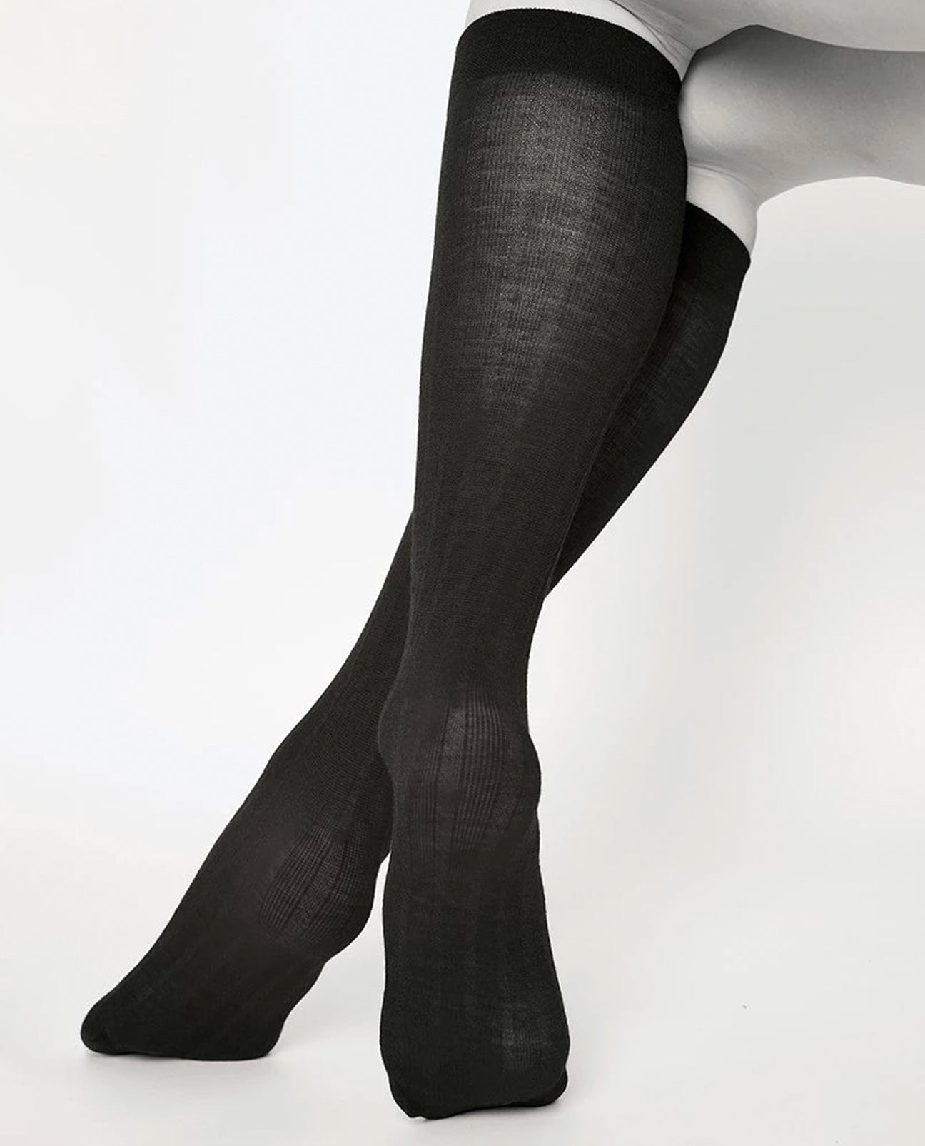 FREJA Bio Wool Knee High Socks Black