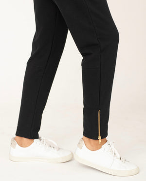 ISLA Organic Cotton Trousers In Black