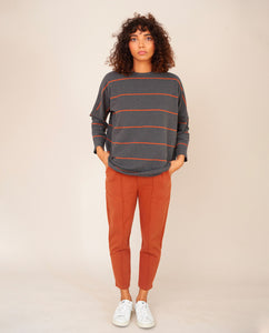 GEORGE Organic Cotton Trousers In Cinnamon