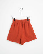 Gilma Organic Cotton Shorts In Cinnamon