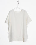 Hayley-May Organic Cotton & Linen Tunic In Off White