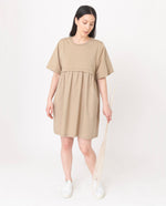 JAINA Organic Cotton Dress In Sand