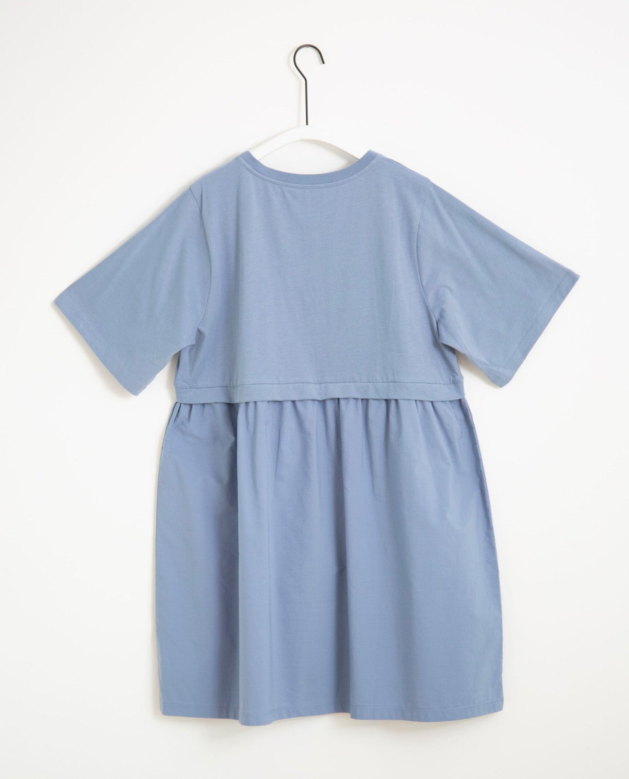 Jaina Organic Cotton Dress In Sky