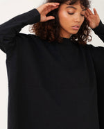 JANE Organic Cotton Top In Black