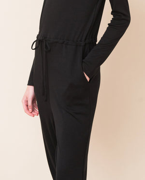 JESSICA Lyocell Jumpsuit In Black
