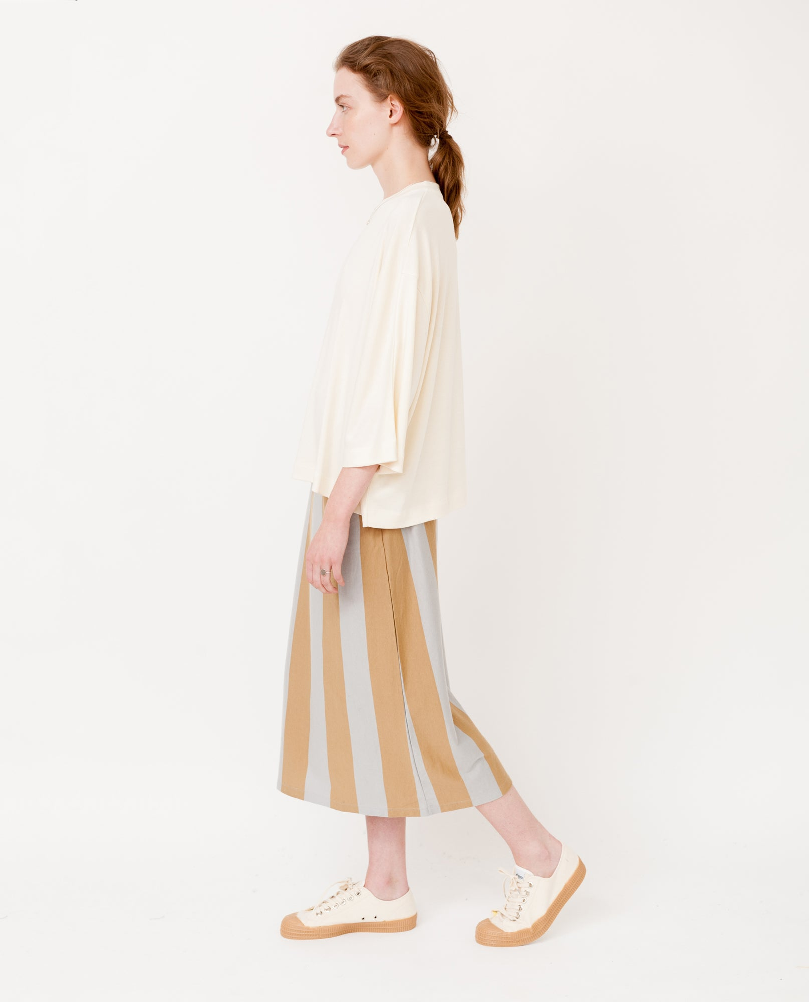 JULIE Lyocell Top In Off White