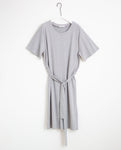 Juliet-Lou Lyocell Jersey Dress In Light Grey Marl