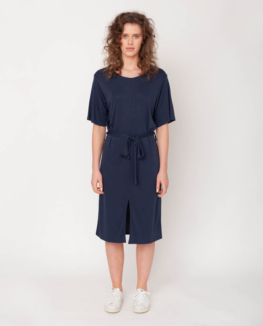 Juliet-Lou Lyocell Jersey Dress In Midnight