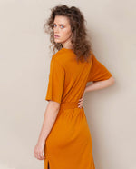 Juliet-Lou Lyocell Jersey Dress In Bronze