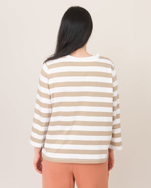 KIM Organic Cotton Top In Sand