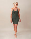 LANA Organic Cotton Slip In Khaki
