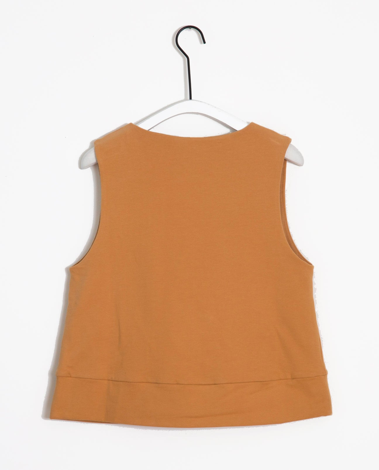 Lily Organic Cotton Top In Fawn