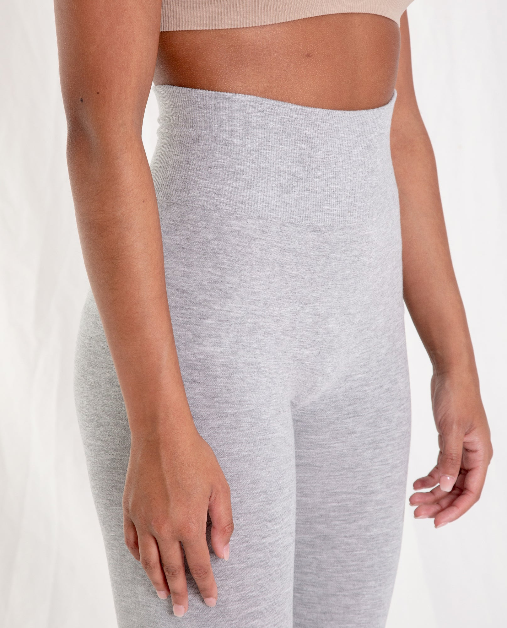 LISA Bamboo Leggings In Light Grey