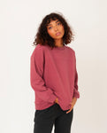 LOUISA Organic Cotton Top In Old Rose