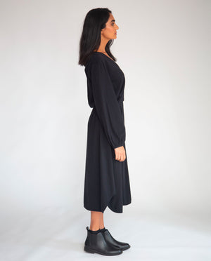 Luella Organic Cotton Dress In Black