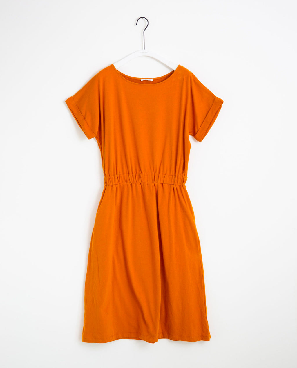 Marissa Organic Cotton Dress In Bronze