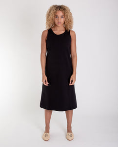 MARLEY Organic Cotton Dress In Black