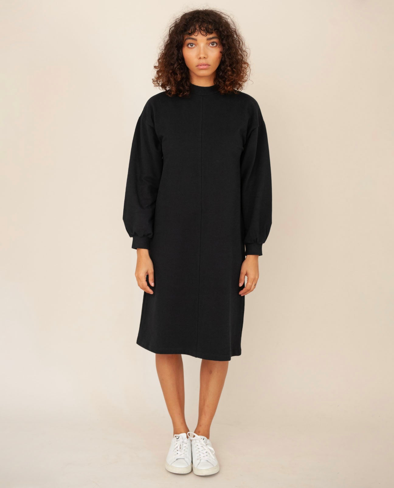 MARTA Organic Cotton Dress In Black