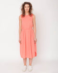 Mulberry Organic Cotton Dress In Blush