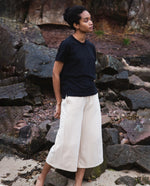 Nicky Organic Cotton Trousers In Sand