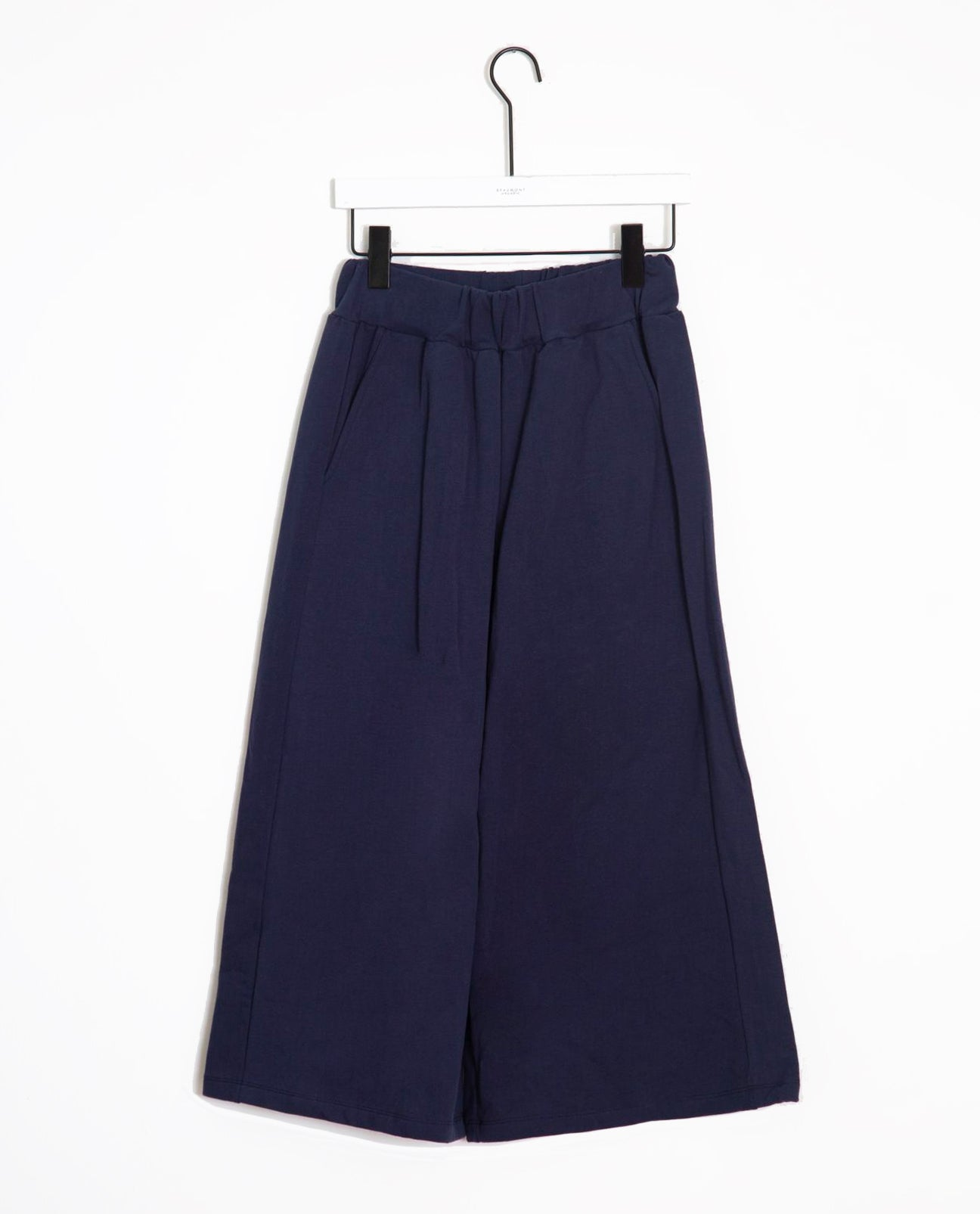 Nicky Organic Cotton Trouser In Midnight