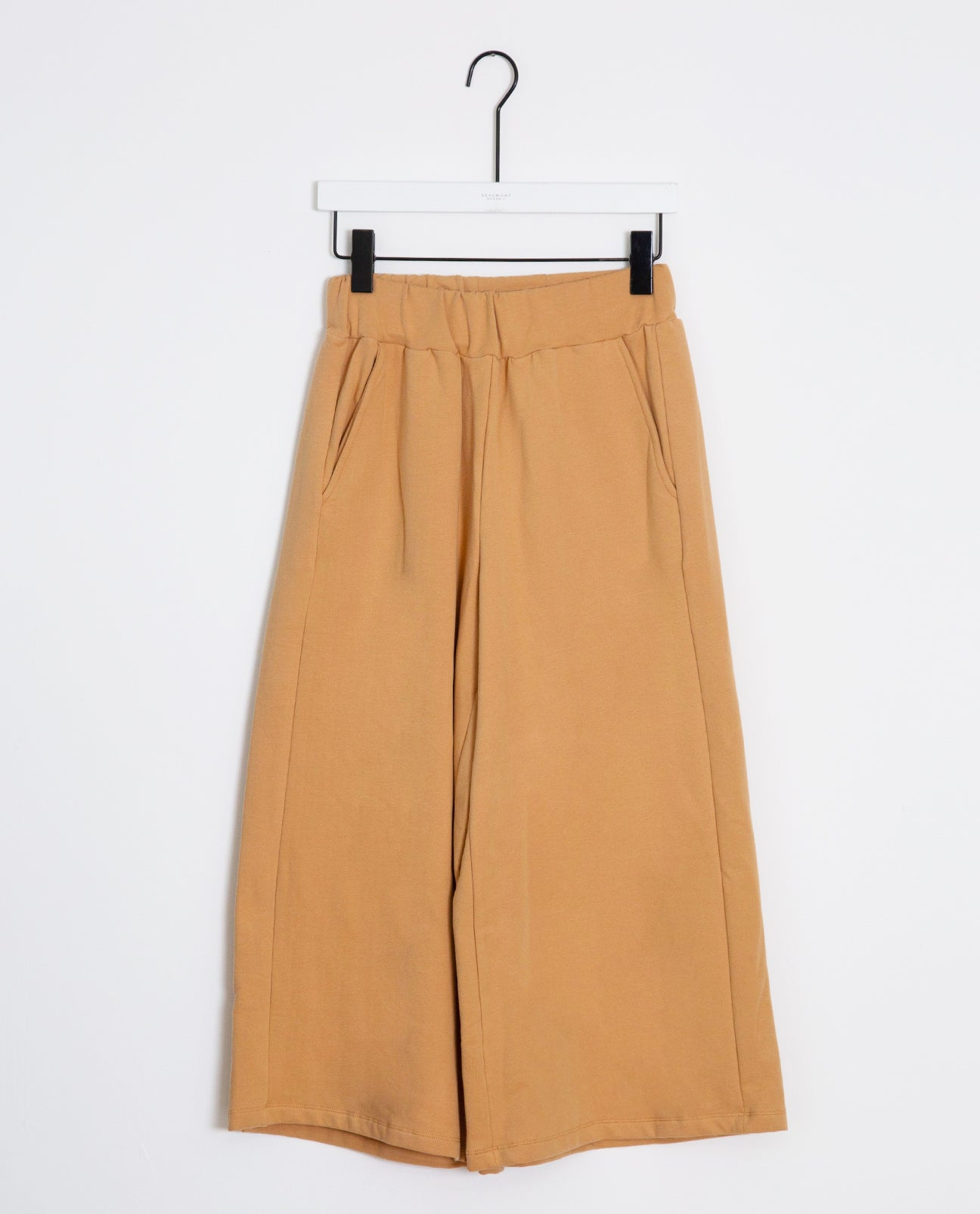 Nicky Organic Cotton Trouser In Fawn