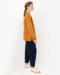 PEDI Organic Cotton Trousers In Navy