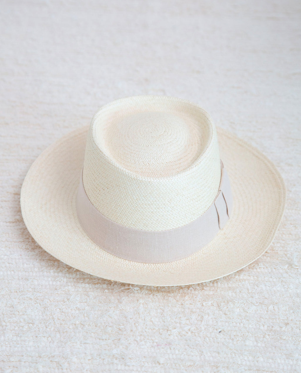 Planter Hat With Bone Trim
