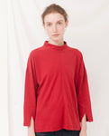 PREMA Organic Cotton Top In Cranberry