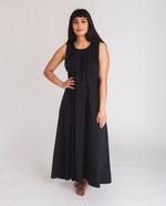 Remi Organic Cotton Dress In Black