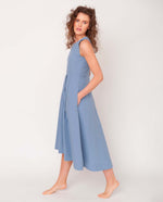 Remi Organic Cotton Dress In Sky