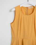 Remi Organic Cotton Dress In Honey