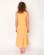 Madelyn Organic Cotton Dress In Honey
