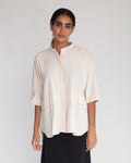 Robin Organic Cotton Shirt In Beige