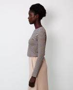 Ronda Organic Cotton Skirt In Nude