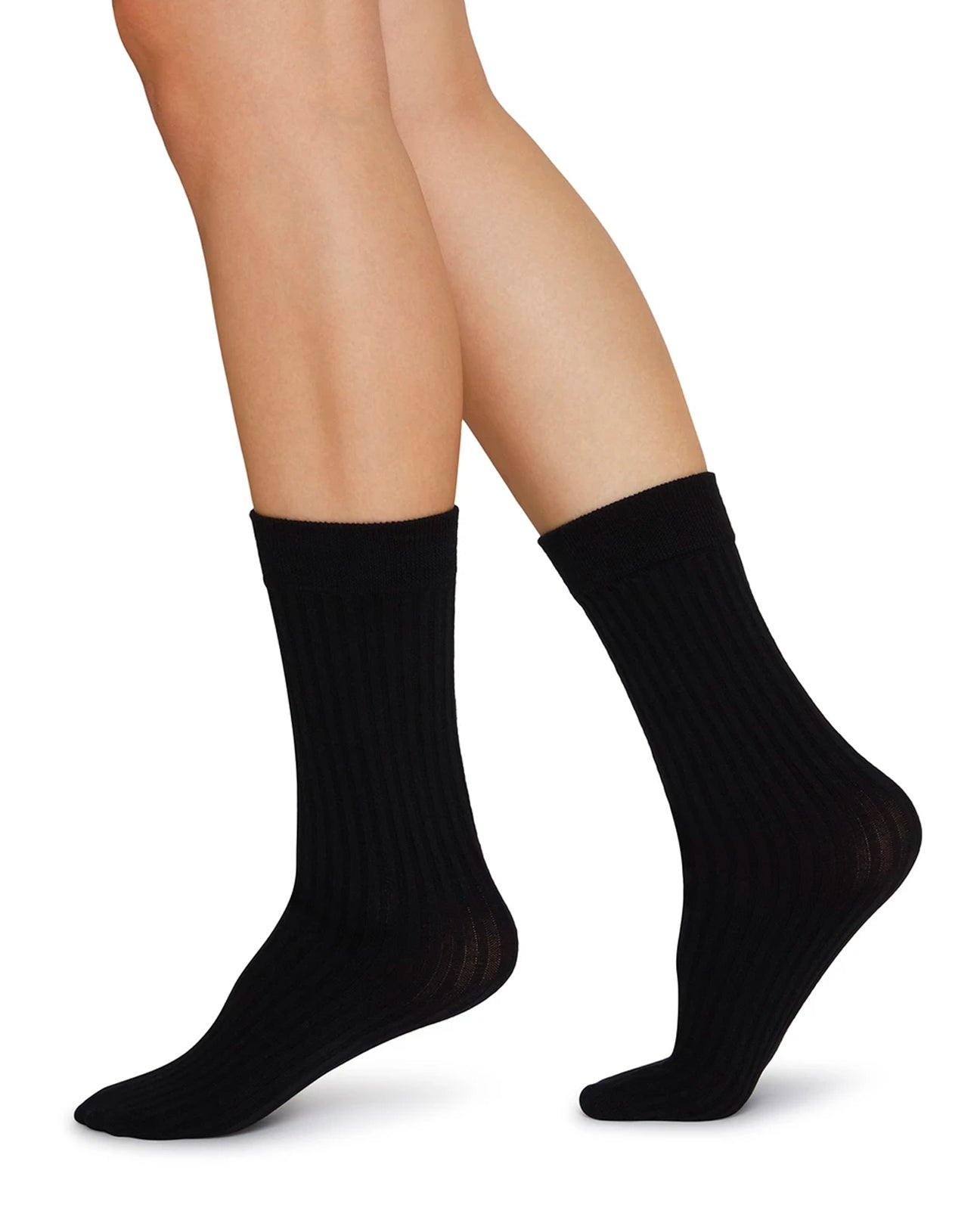 SIGNE Bio-Cotton Socks Black