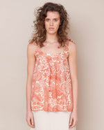 Sita Organic Cotton Top In Pink Print